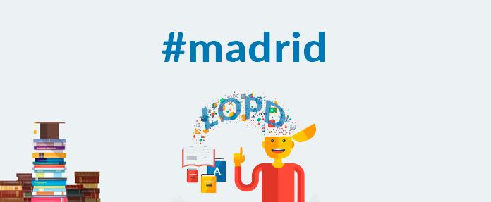 Formación en Madrid sobre el Reglamento europeo de Protección de datos