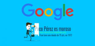 eliminar datos personales en google