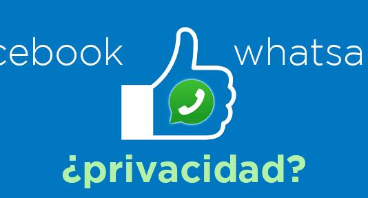 WhatsApp comparte con Facebook contactos