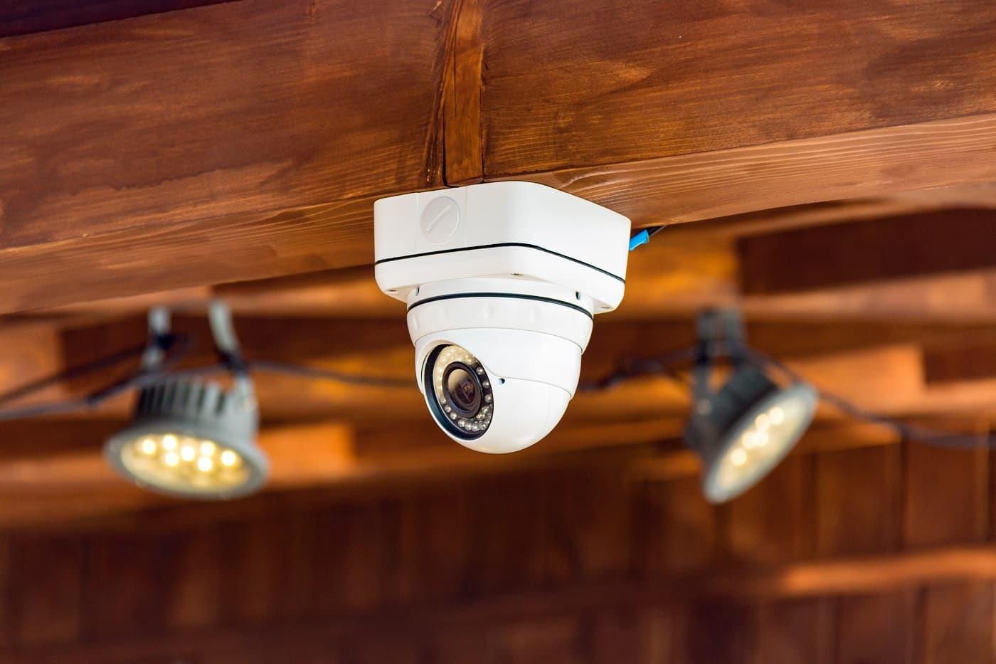 cámara en establecimiento sanciones por cámaras de videovigilancia