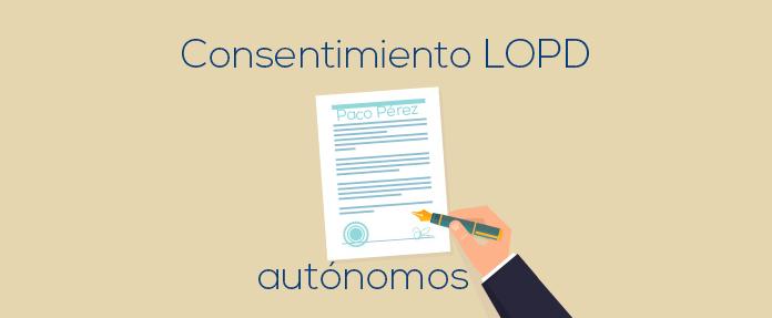 ley de proteccion de datos para autonomos