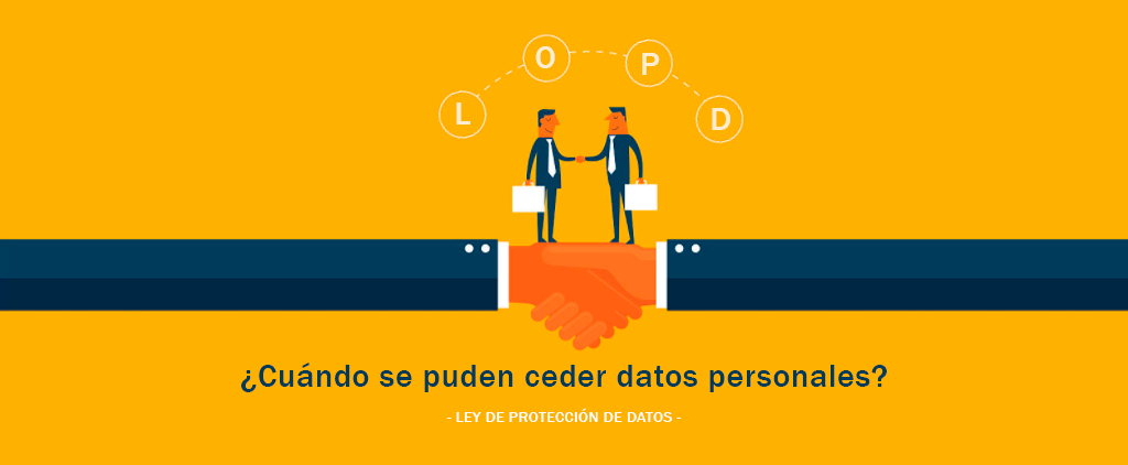 regulación cesión de datos