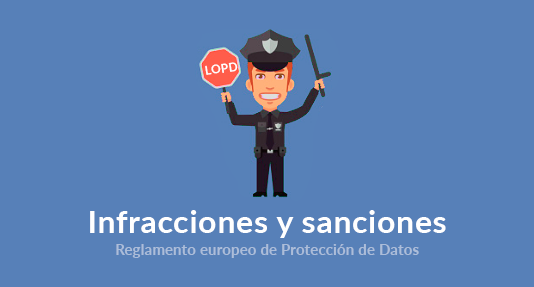 sanciones reglamento europeo proteccion de datos