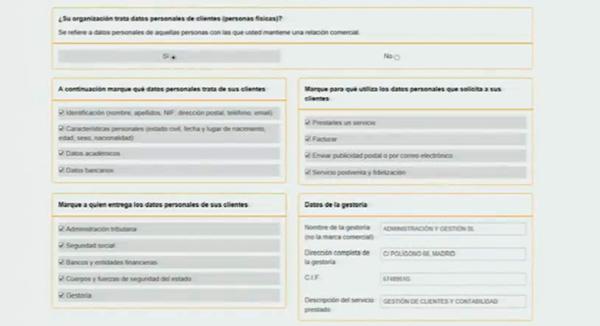 informacion protecion datos de clientes