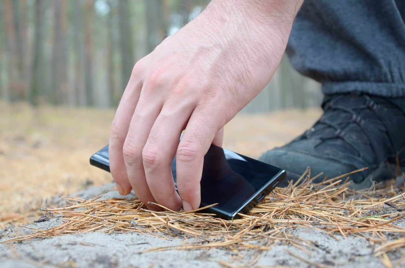 imagen conceptual móvil perdido robado