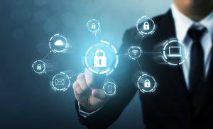 Imagen de protección de datos digitales