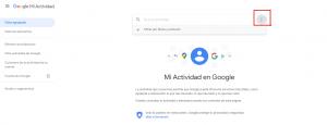 Imagen ejemplo eliminar mis datos de Google 3