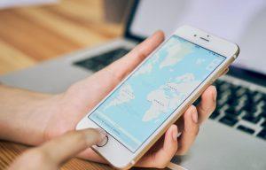 Imagen concepto eliminar datos google maps