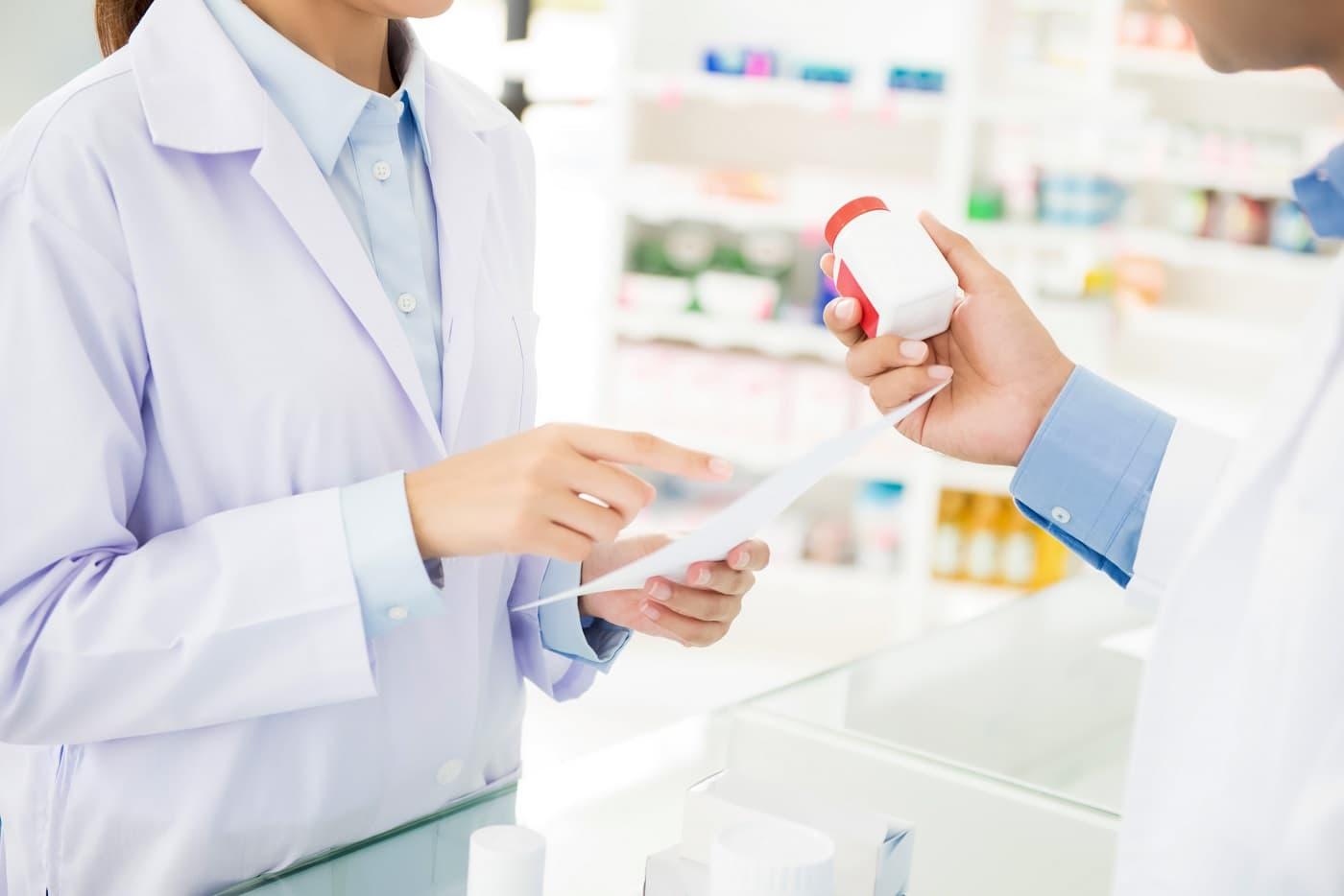 Imagen de farmacia para protección de datos para farmacias