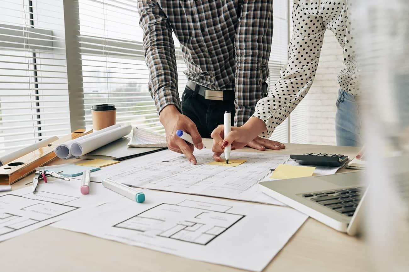 Imagen protección de datos construcción arquitectos