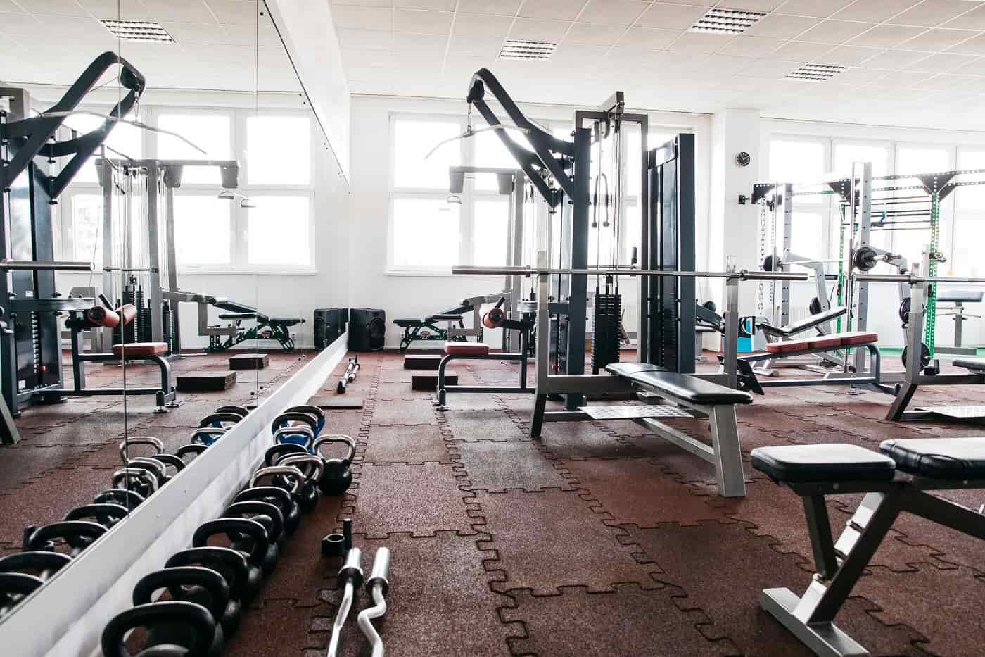 Interior gimnasio Protección de datos