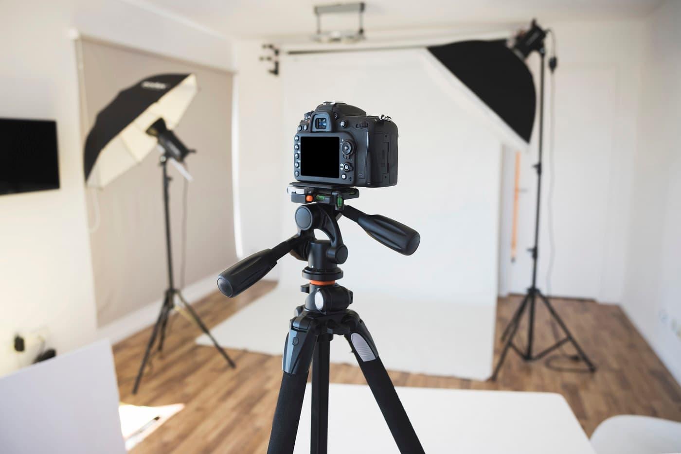 Imagen de estudio fotográfico para protección de datos fotógrafos
