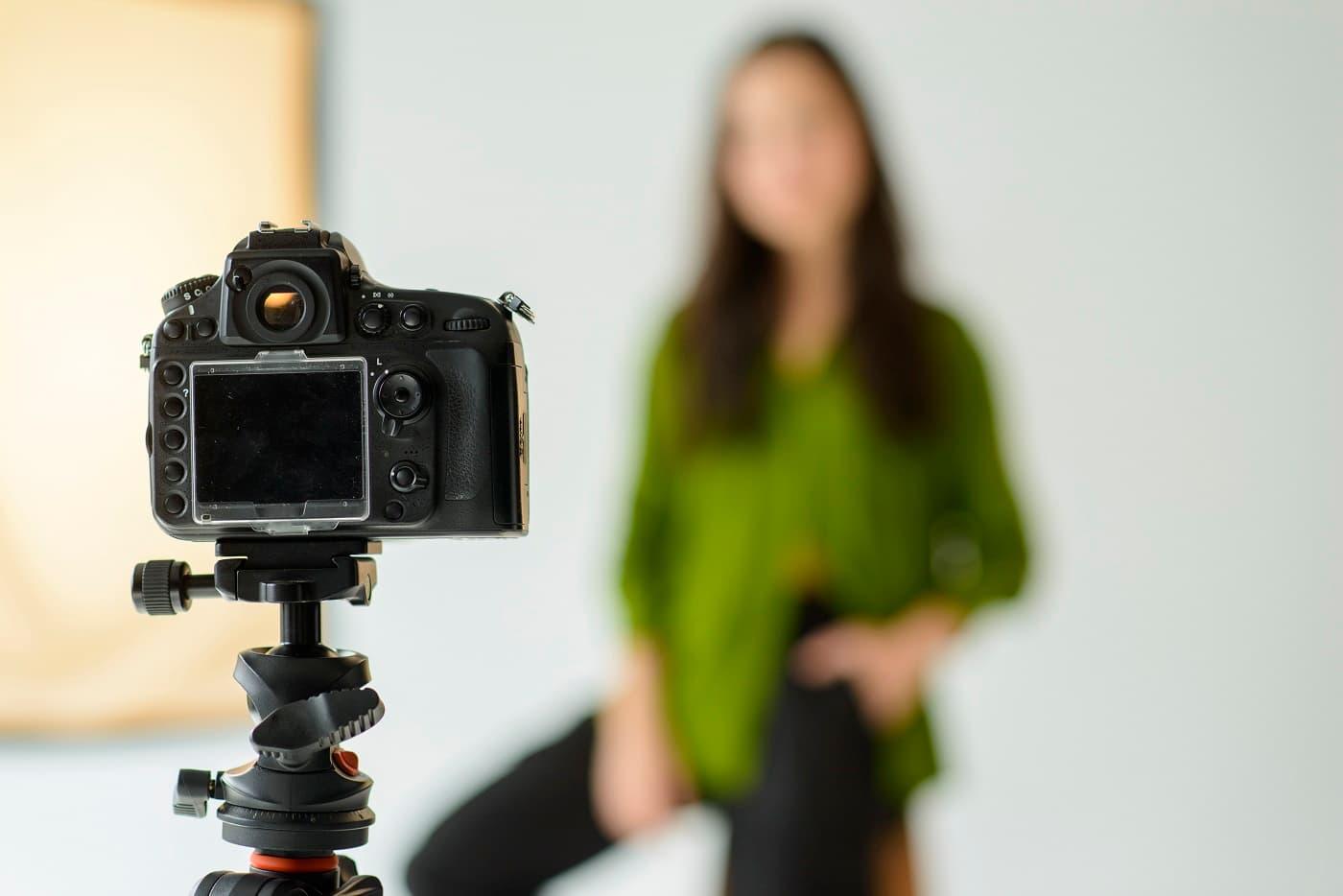 Fotografía de en estudio protección de datos fotógrafos