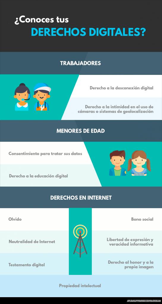 ley organica de proteccion de datos y garantia de los derechos digitales