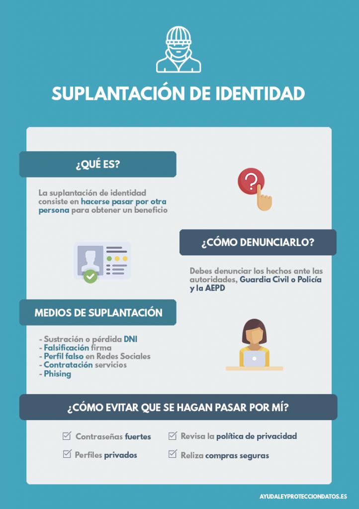 suplantacion de identidad phising a netflix, proteccion de datos