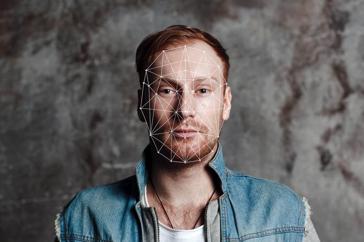 Imagen de reconocimiento facial