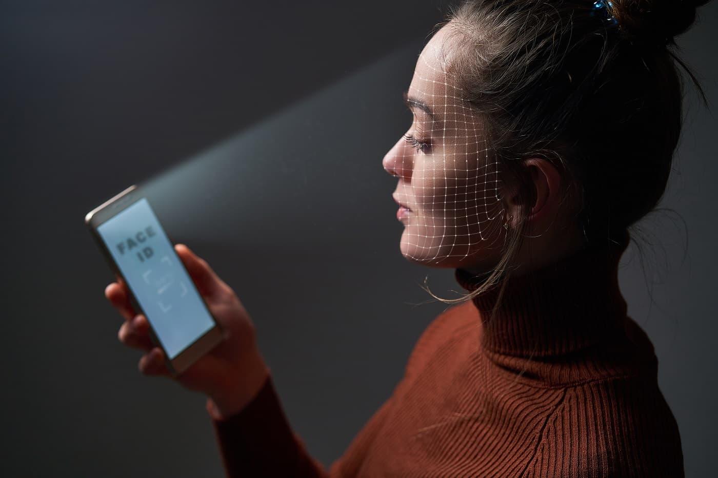 reconocimiento facial en móvil