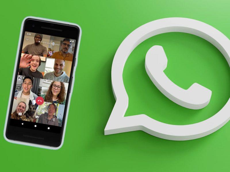 Portada videollamadas whatsapp