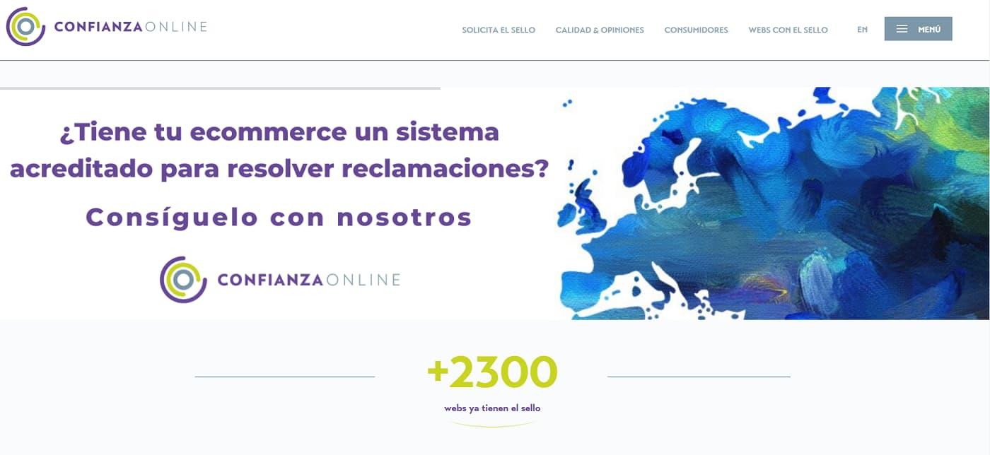 Web sello Confianza online