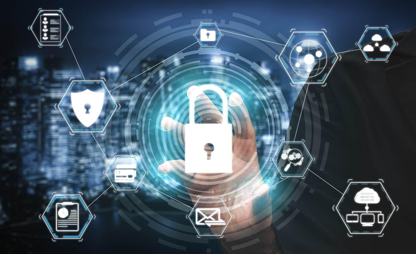 Concepto de ciberseguridad en ciberseguros