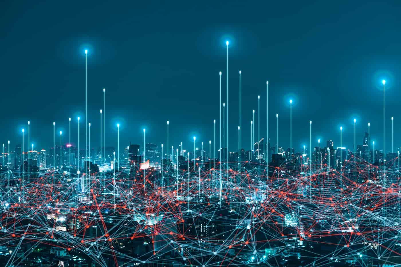 Concepto de ciudad inteligente Smart City 3