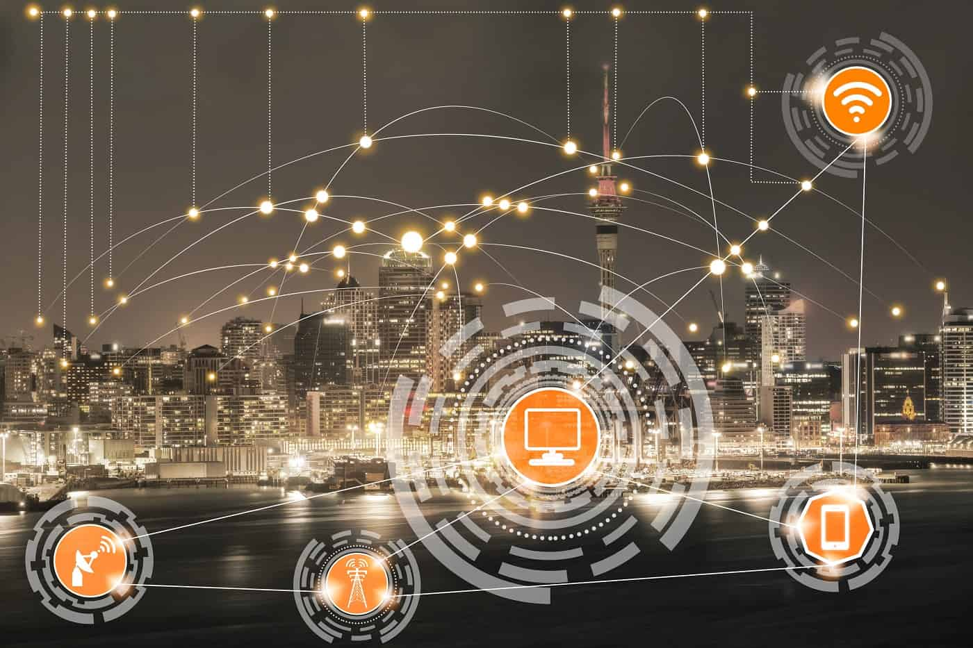 Concepto de ciudad inteligente Smart City 2