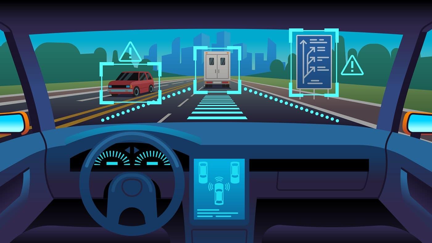Imagen conceptual coches conectados 2