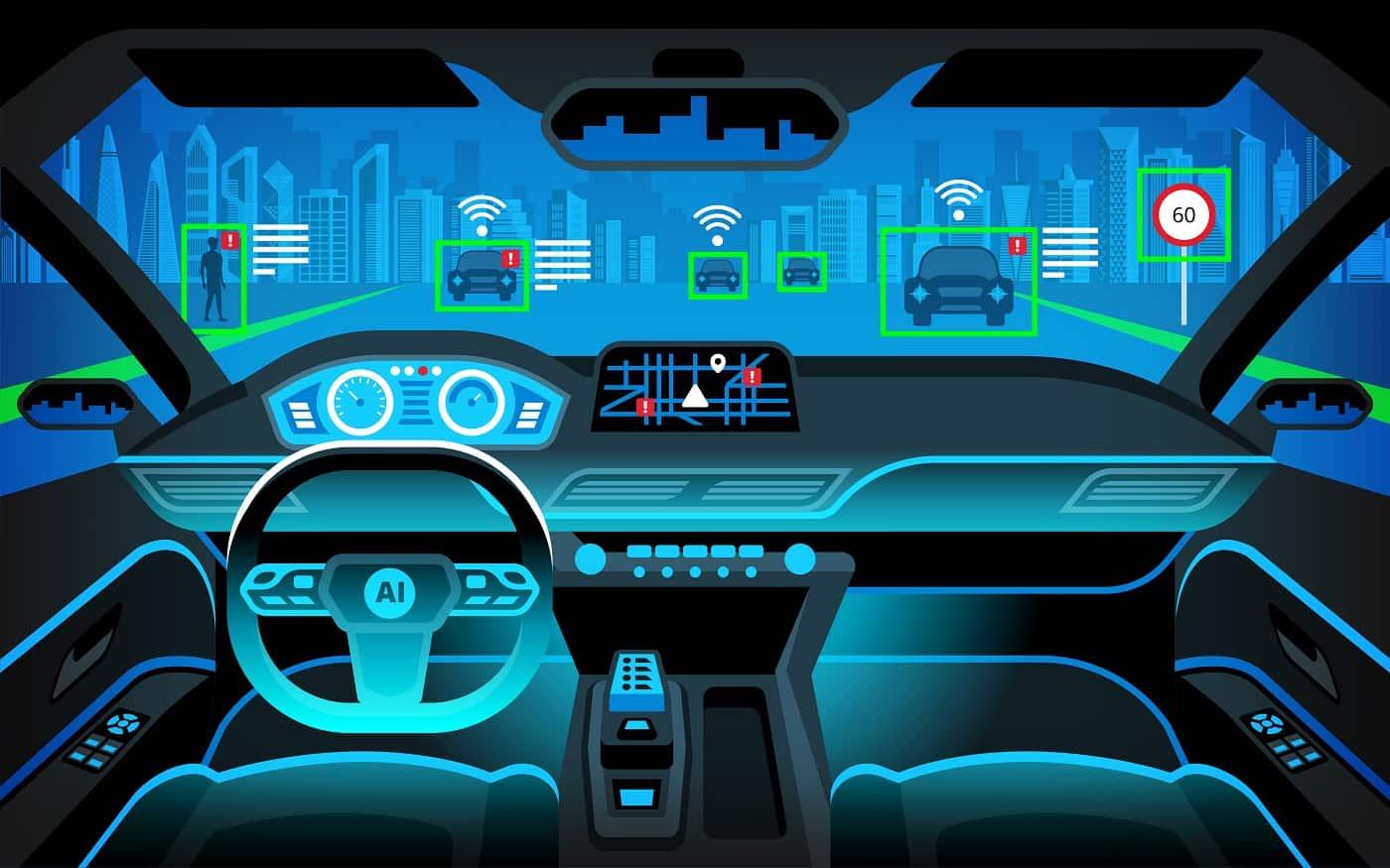 Concepto interior coches conectados 1
