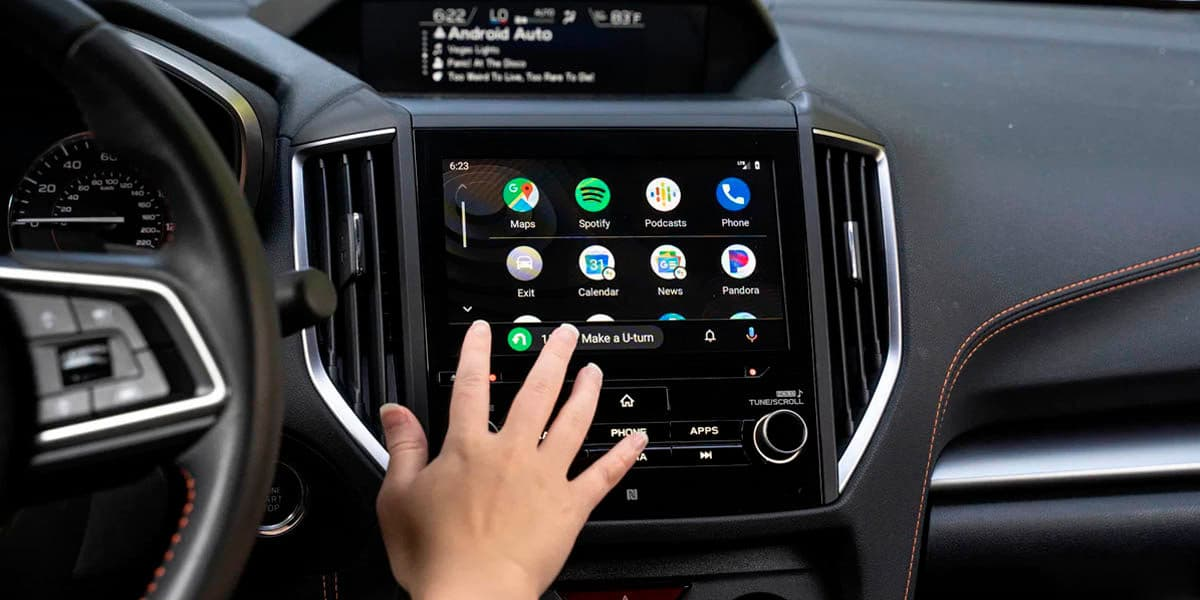Imagen de Auto Android en coche apps google