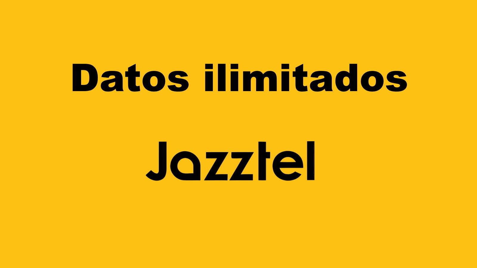 Datos ilimitados jazztel