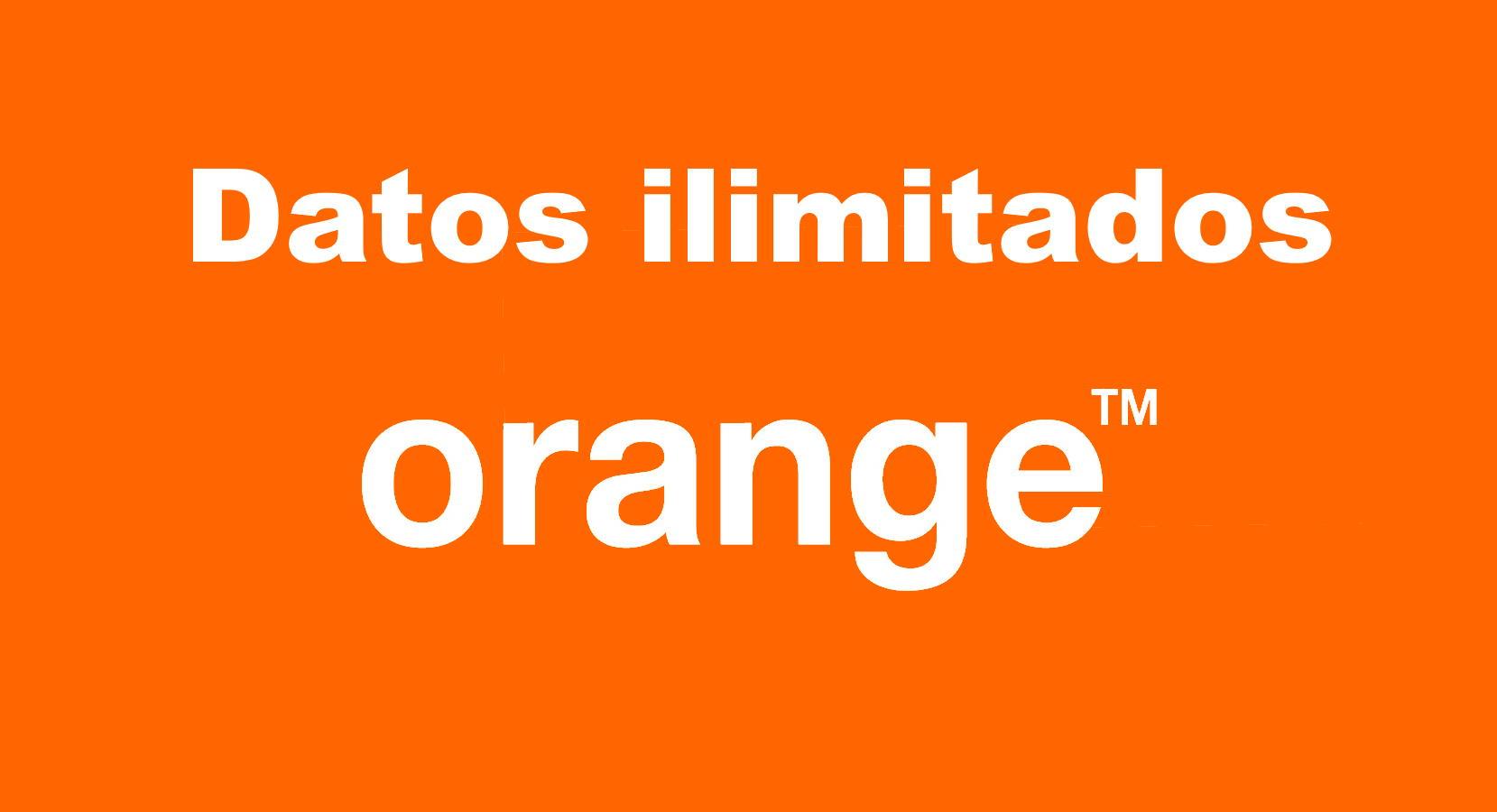 Datos ilimitados Orange