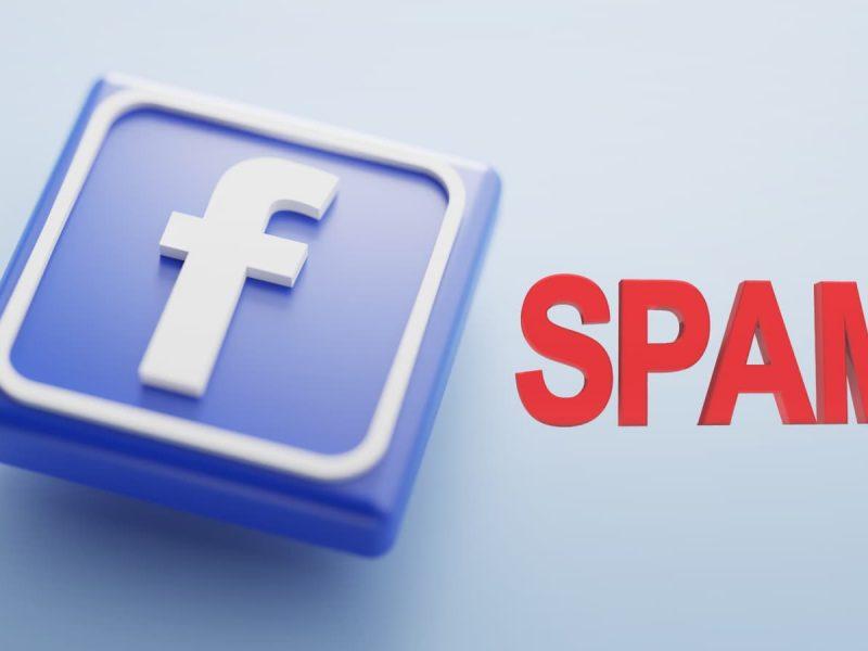 Portada spam facebook