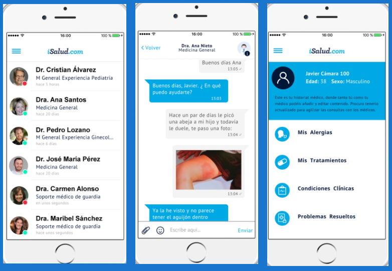 Chat médico isalud