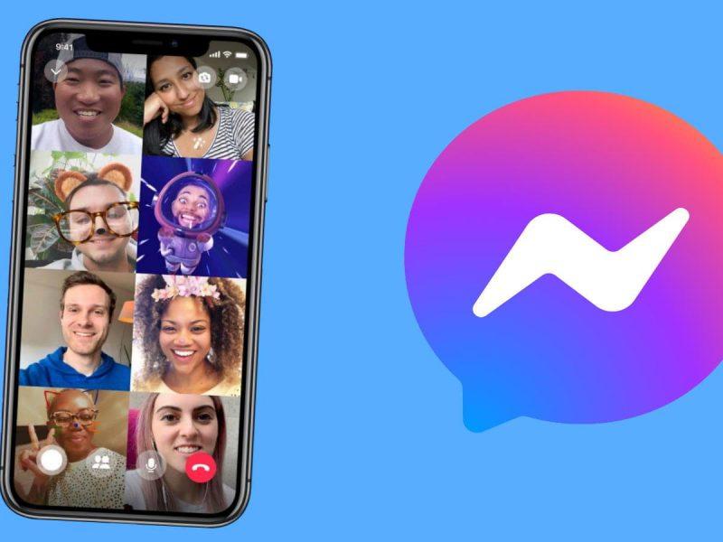 Portada para facebook messenger videollamadas