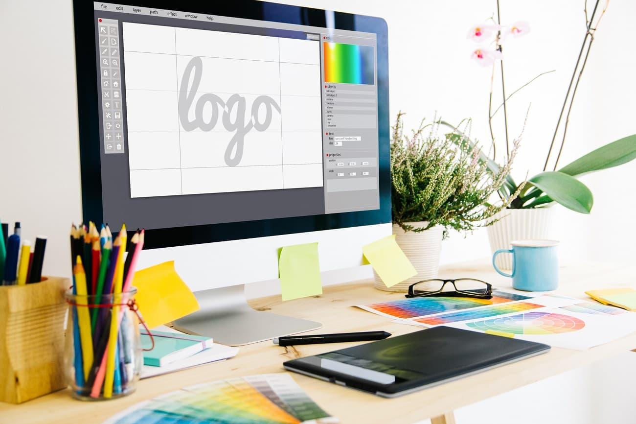 logo, patente y marca