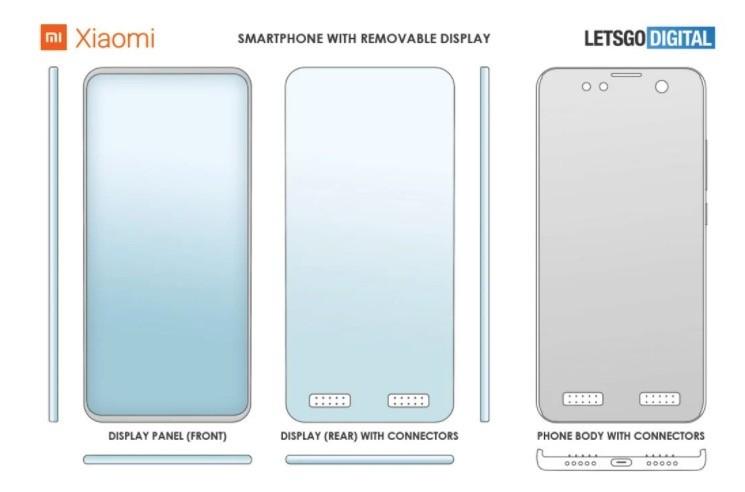 Patente Xiaomi teléfono modular