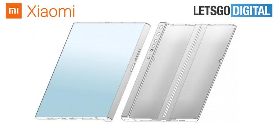 Patentes Xiaomi teléfono plegable
