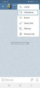 Videollamar con Telegram