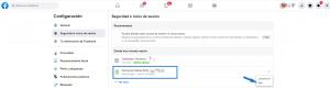 Cerrar sesión de Messenger desde la web de Facebook