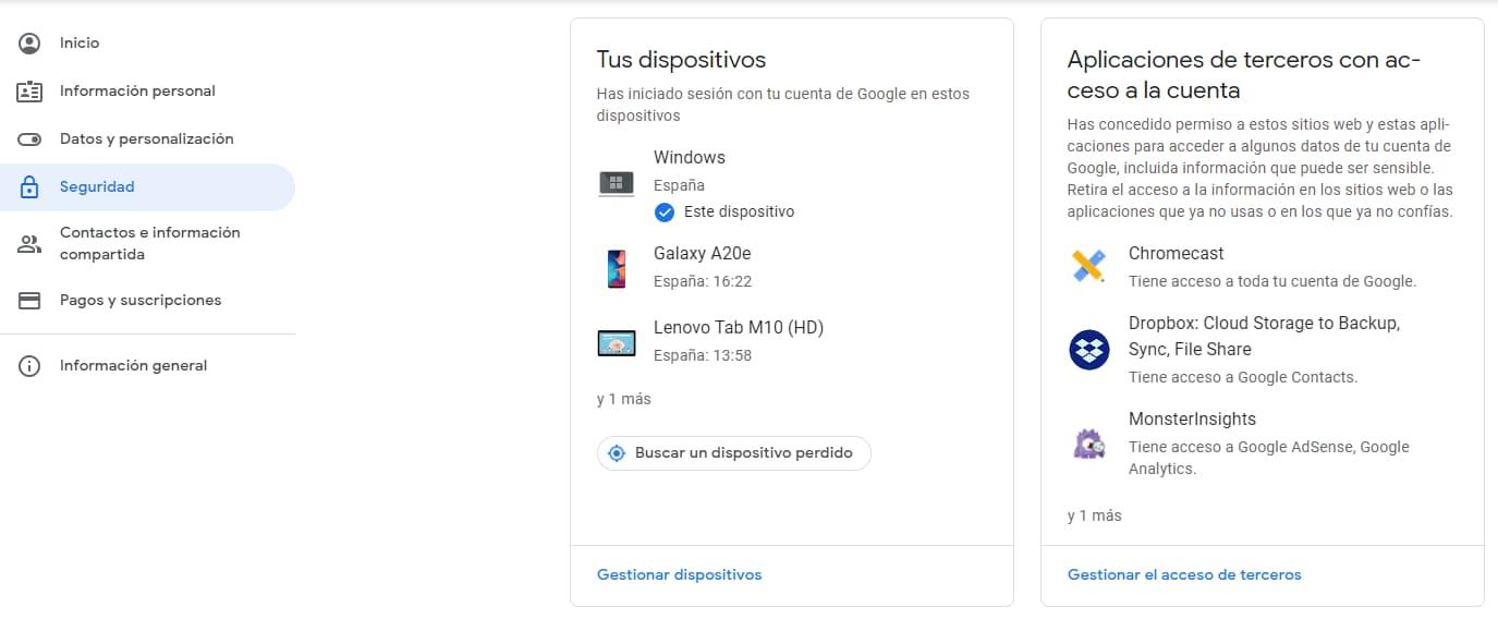 Seguridad youtube