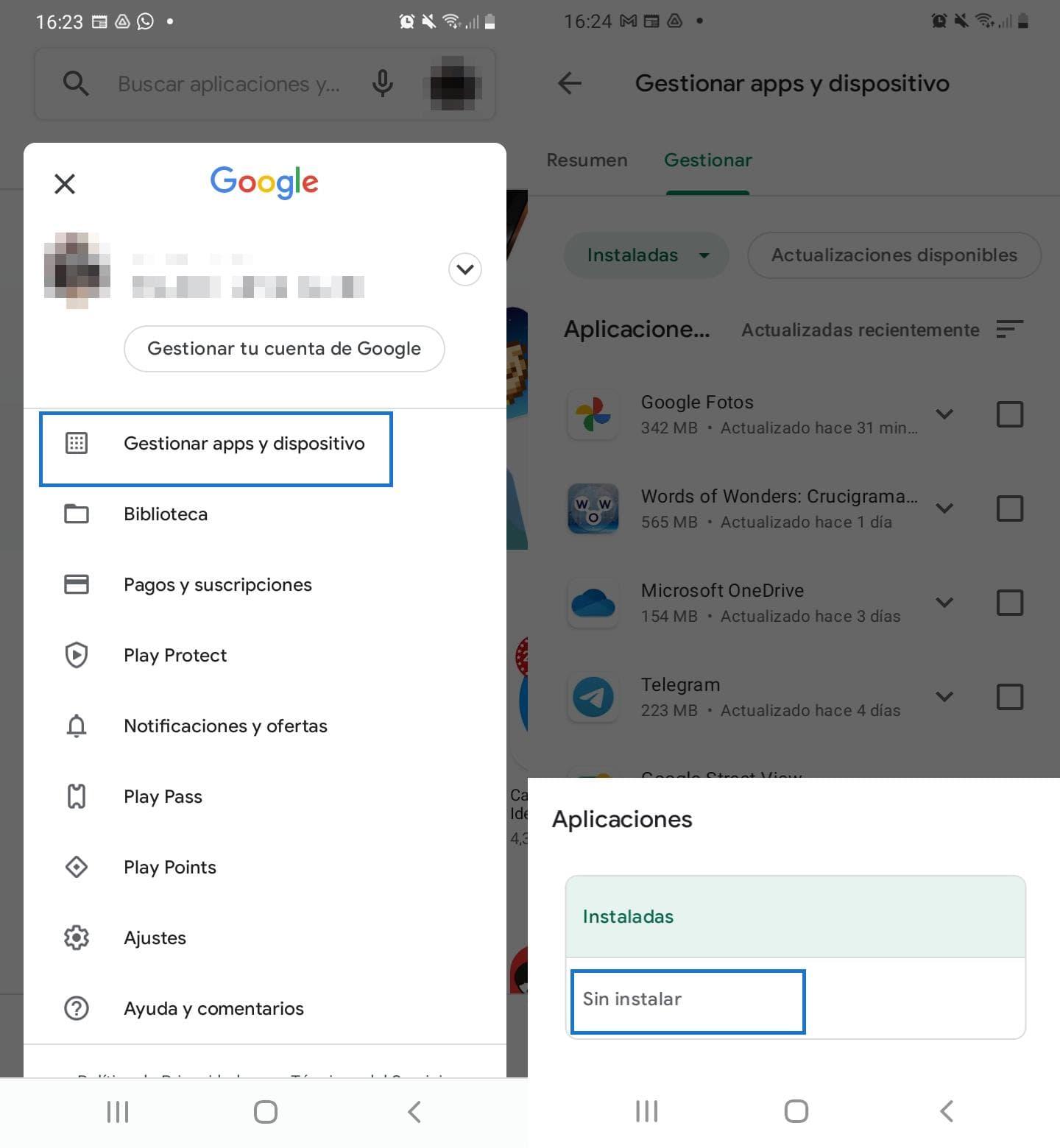 Copia de seguridad de las aplicaciones en Android