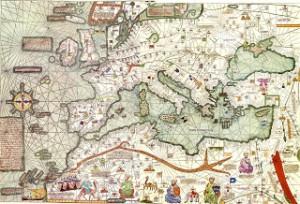 mapamundi siglo XIV